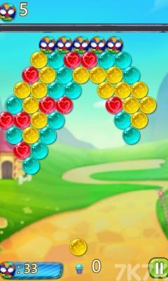《皎月森林泡泡龙》游戏画面3