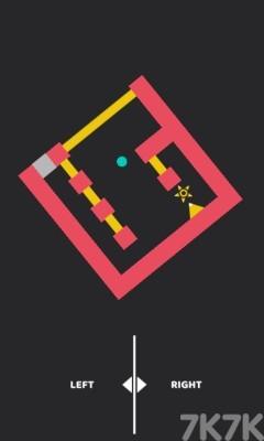《圆球闯迷宫选关版》游戏画面2