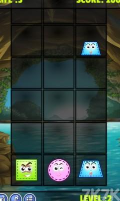 《落下的图形》游戏画面2