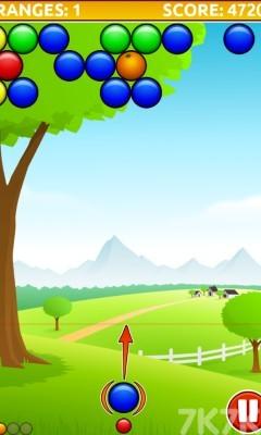 《橘子泡泡龙》游戏画面4