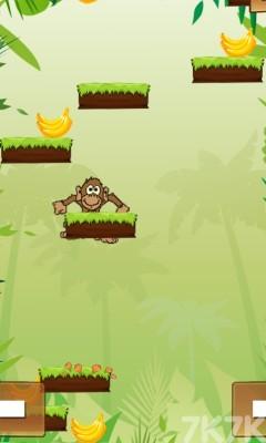 《小猴子丛林跳跃》游戏画面1