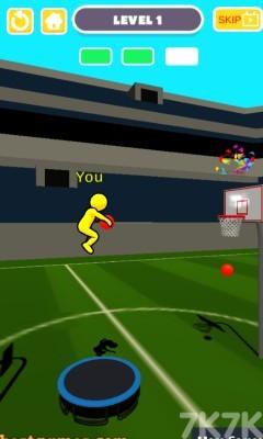《弹跳投篮》游戏画面3