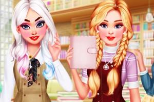 《校园潮流女生》游戏画面1