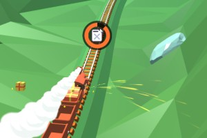 《火车冲鸭》游戏画面1