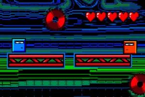 《小蓝快点溜》游戏画面1