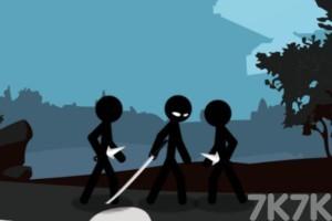 《火柴人復仇戰》游戲畫面1