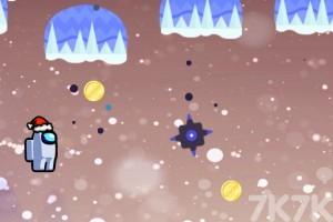《太空人取金幣》游戲畫面3