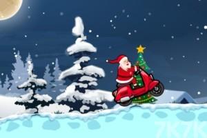 《圣誕摩托車》游戲畫面2