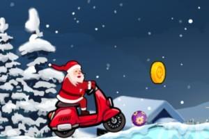 《圣誕摩托車》游戲畫面4