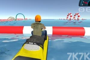 《特技摩托艇大賽》游戲畫面3