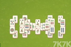 《麻將連連看》游戲畫面2