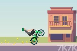 《炫技自行车大赛》游戏画面1