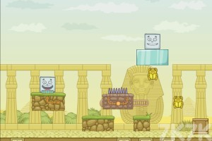 《埃及方块冒险》游戏画面1