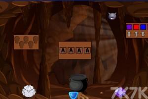 《山洞老人逃脱》游戏画面2