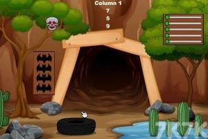 《山洞老人逃脱》游戏画面1