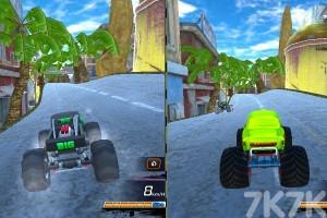 《大脚车极限赛车》游戏画面1