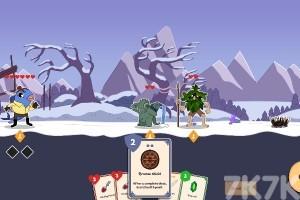 《卡牌冒险》游戏画面1