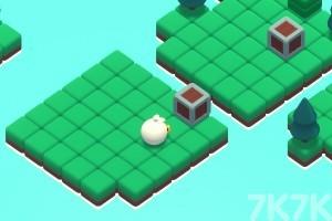 《白鸭推箱子》游戏画面1