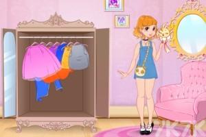 《装扮可爱公主》游戏画面3