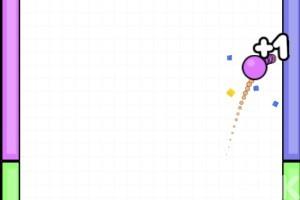 《彩色球跳跃》游戏画面1
