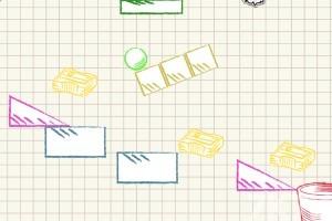 《球入纸篓》游戏画面4
