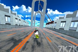 《城市摩托車競賽》游戲畫面5