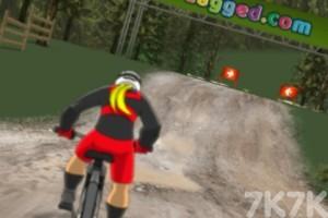 《越野自行车大赛》游戏画面1