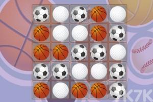 《体育用品对对碰》游戏画面1