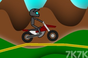 《摩托越野挑戰》游戲畫面1