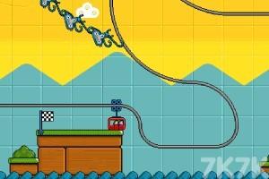 《可爱过山车H5》游戏画面2
