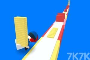 《橡皮人爬楼梯》游戏画面2