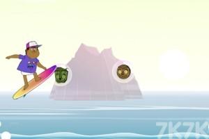 《怪物海滩冲浪》游戏画面1