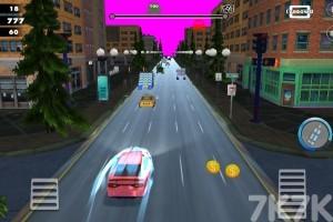 《飞驰的汽车》游戏画面1