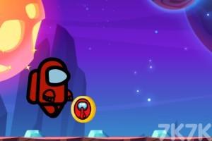 《太空人外星跑酷》游戏画面2