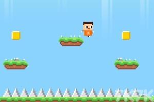 《像素小人跳跃》游戏画面3