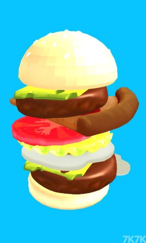 《全民叠汉堡》游戏画面1