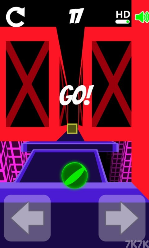 《滚动的小球》游戏画面2