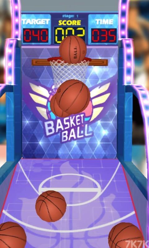 《篮球机挑战赛》游戏画面2