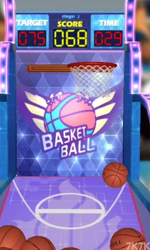《篮球机挑战赛》游戏画面4