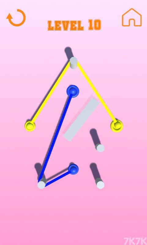 《彩色绳子》游戏画面3