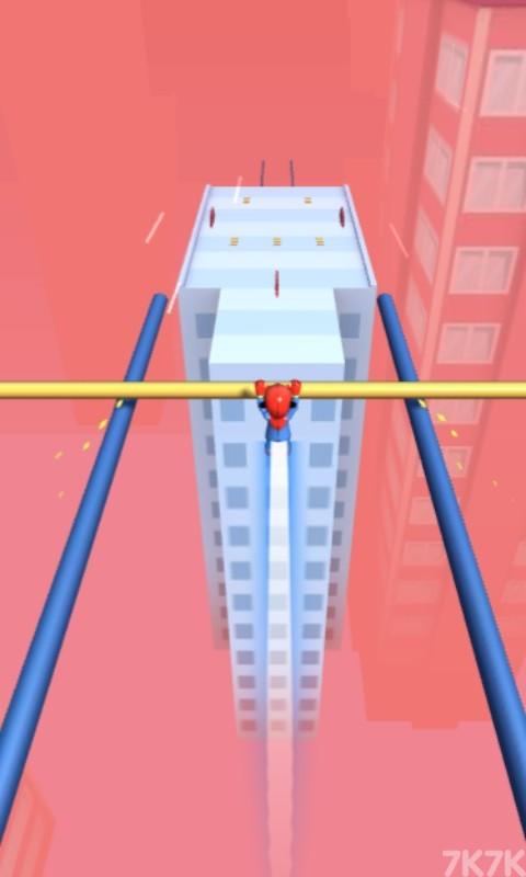 《屋顶滑轨》游戏画面2