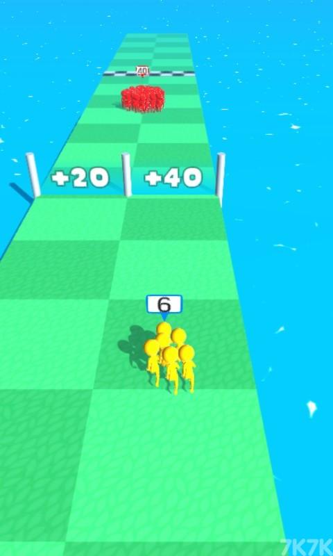 《橡皮人一起冲》游戏画面3