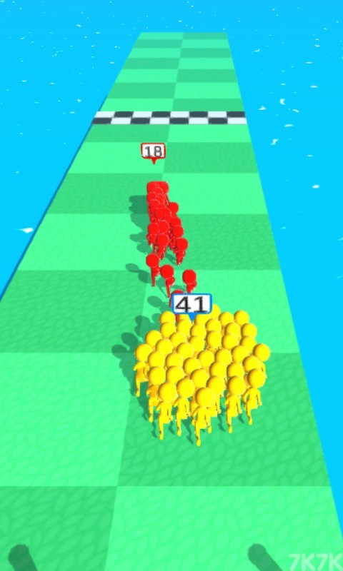 《橡皮人一起冲》游戏画面2