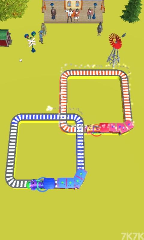 《火车交通指挥》游戏画面1