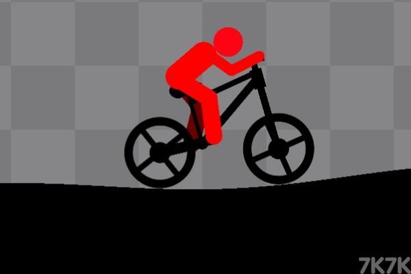 《火柴人自行车无敌版》游戏画面1