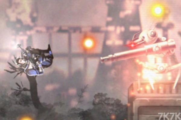 《未来枪战》游戏画面1