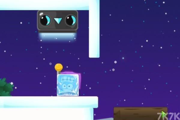 《紫色冰块回家3》游戏画面2