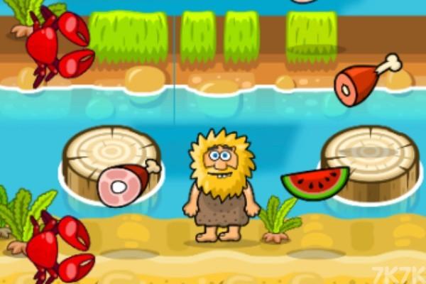 《亚当夏娃过河》游戏画面1