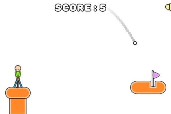 《火柴人高尔夫》游戏画面3