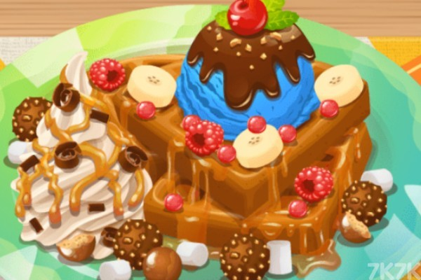 《奶油华夫饼》游戏画面1